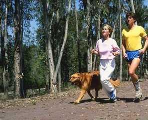 In alergare